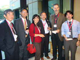 Representatives from Toyota