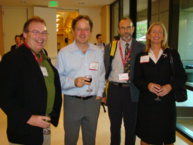 Sam Perry, Ken Caldeira, Chris Field and Marilyn Brown