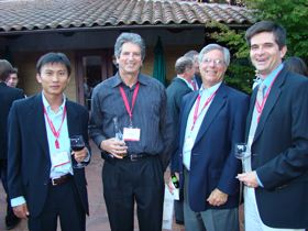 Yi Cui, Martin Green, Allen Barnett and Kelly Fletcher