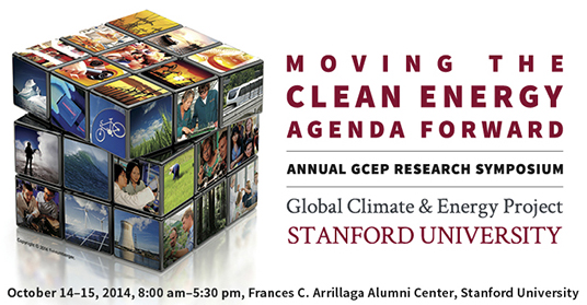 GCEP Research Symposium 2014 Banner
