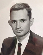 Allen Bard as an assistant professor at The University of Texas at Austin in 1960.