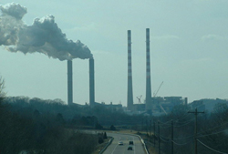 Photo of Smoke Stacks from Factory